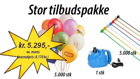 Stor ballonpakkeSide: Balloner med tryk – ReklameballonerStor ballonpakke