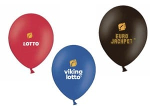 Danske spil balloner